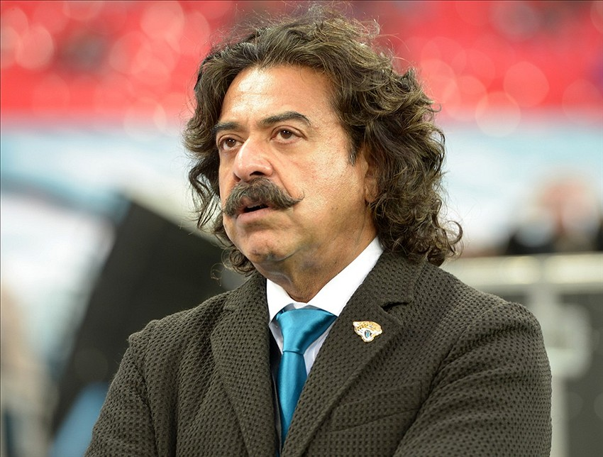 Oct 27, 2013; London, United Kingdom; Jacksonville Jaguars owner