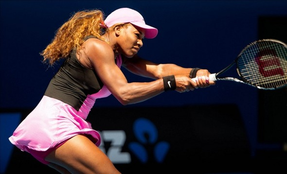 Serena Williams saw her Australian Open challenge ended