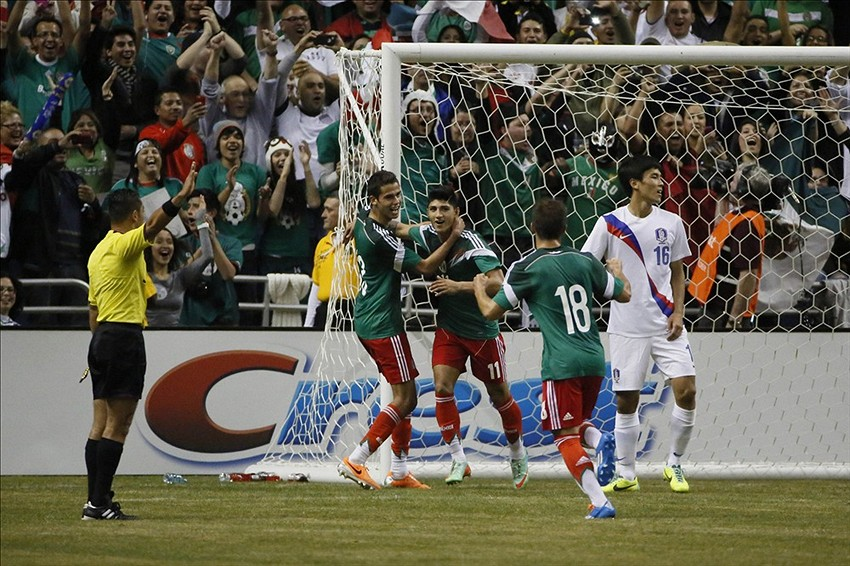 mexico vs south korea score el tri secures 4 0 win