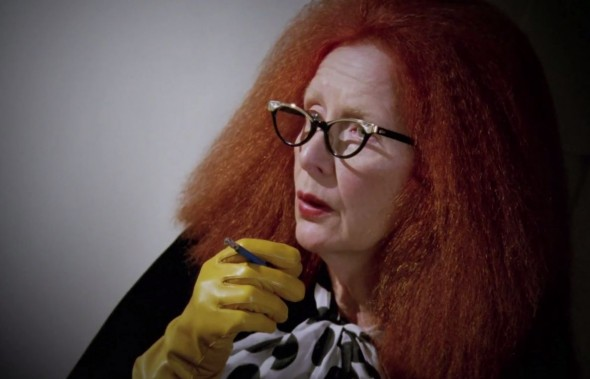 "Frances Conroy as Myrtle Snow in Episode 11 of ""American Horror Story: Coven"" entitled ""Protect the Coven."" Photo Credit: FX"
