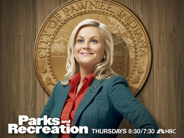 "Amy Poehler as Leslie Knope in ""Parks and Recreation."" Photo Credit: NBC"