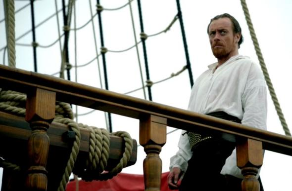 "Toby Stephens as Captain Flint on the new Starz Original Series ""Black Sails."" Photo Credit: Starz"