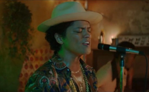 "Bruno Mars in his music video ""Gorilla."" Photo Credit: Atlantic"