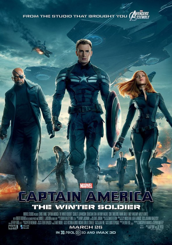 "U.K. Promo Poster for ""Captain America: The Winter Soldier."" Photo Credit: Marvel"