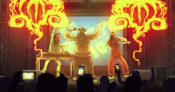 "Scene from the upcoming season of ""Chozen"" on FX. Photo Credit: FX"