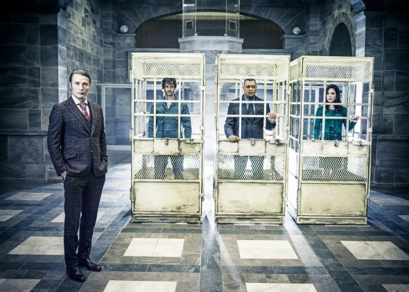 "Promotional Picture for the upcoming Season 2 of ""Hannibal."" Photo Credit: NBC"