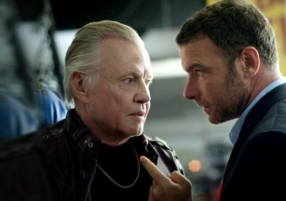 "Jon Voight and Liev Schreiber as Mickey and Ray Donovan in ""Ray Donovan"" Photo Credit: Showtime"