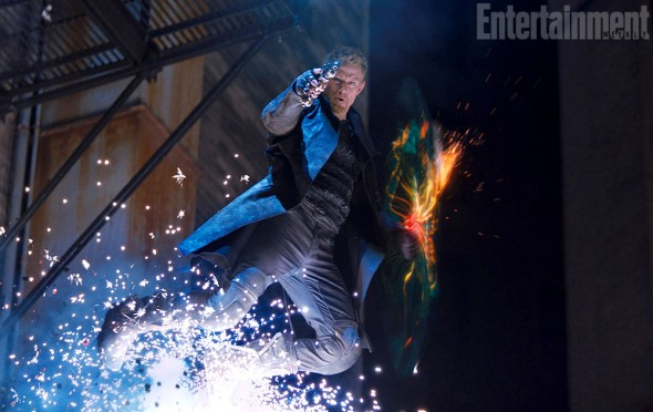 "EW Exclusive photo of Channing Tatum as Caine in the upcoming film ""Jupiter Ascending."" Photo Credit: Warner Bros. via Entertainment Weekly"