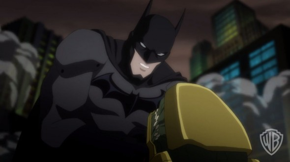 "Batman as voiced by Jason O'Mara in ""Justice League: War."" Photo Credit: Warner Bros."
