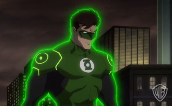 "Green Lantern as voiced by Justin Kirk in the animated feature ""Justice League: War"" Photo Credit: Warner Bros."