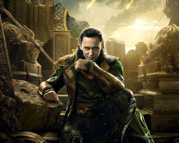 "Tom Hiddleston as Loki in ""Thor: The Dark World."" Photo Credit: Marvel"