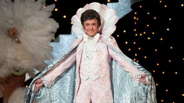 "Michael Douglas as Liberace in ""Behind the Candelabra."" Photo Credit: Claudette Barius/HBO Films"