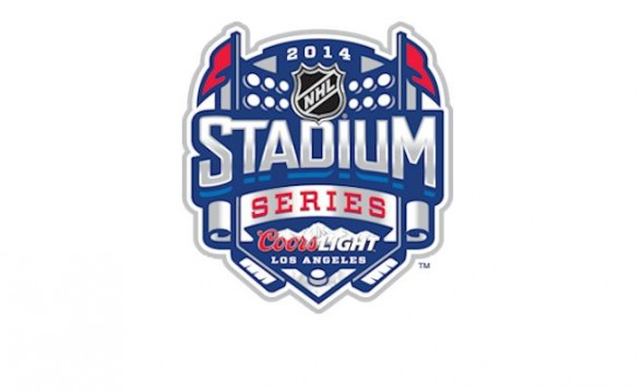 Official Logo of the 2014 Coors Light NHL Stadium Series in Los Angeles Photo Credit: NHL