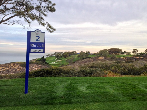 View from the second tee at Torrey North. Photo Credit: Bernie D'Amato-FanSided.com.