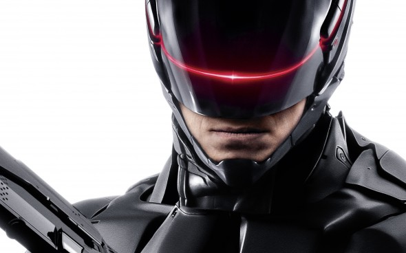"Joel Kinnaman as Alex Murphy a.k.a. RoboCop in the film ""RoboCop."" Photo Credit: Sony Pictures"