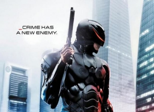 "Promotional Poster for the film ""RoboCop."" Photo Credit: Sony Pictures"