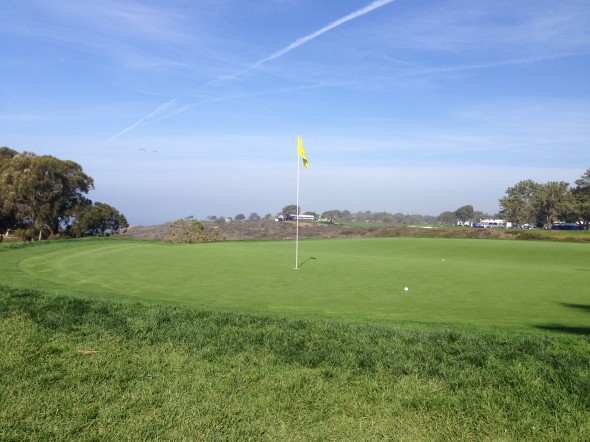 13th green at Torrey South. Photo Credit: Bernie D'Amato-FanSided.com