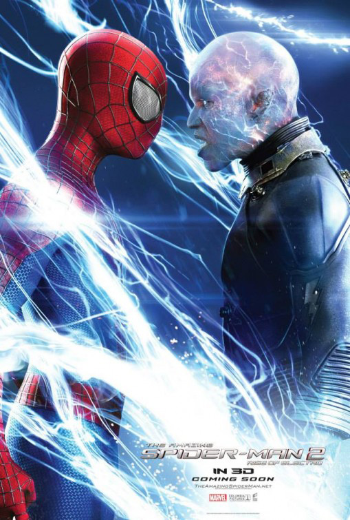 "Promotional Poster for ""The Amazing Spider-Man 2."" Photo Credit: Sony Pictures Entertainment"