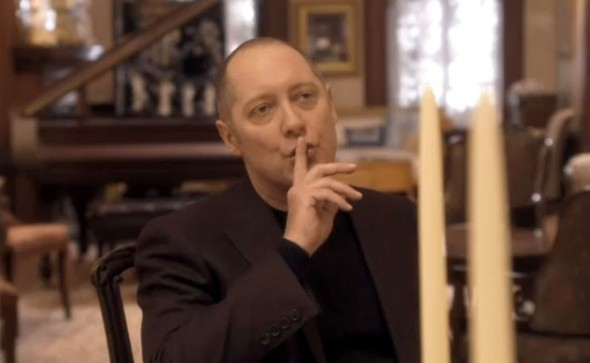 "James Spader as ""Red"" Reddington in Season 1 Episode 11 of ""The Blacklist"" entitled ""The Good Samaritan Killer."" Photo Credit: NBC."