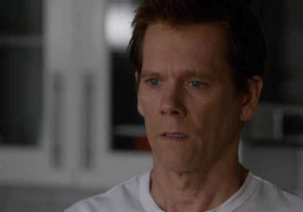 "Kevin Bacon as Ryan Hardy in the series ""The Following"" Photo Credit: Fox"