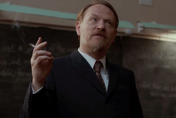 "Jared Harris as Professor Coupland in the film ""The Quiet Ones."" Photo Credit: Lionsgate and Hammer Films"