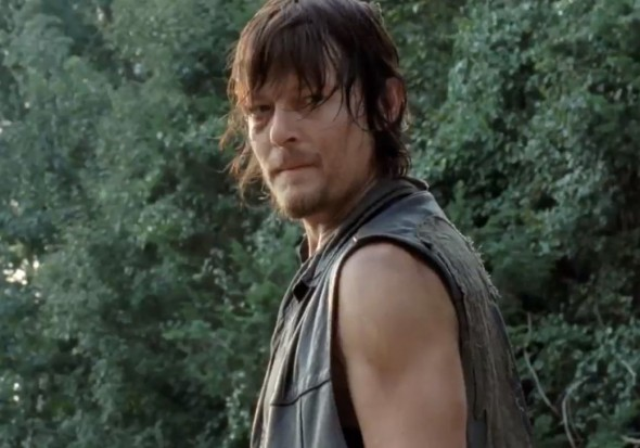 "Norman Reedus as Daryl Dixon in Season 4 of ""The Walking Dead."" Photo Credit: AMC"