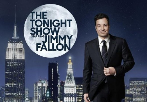 Tonight Show Jimmy Fallon Poster Crop