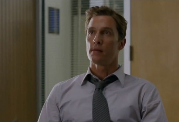 "Matthew McConaughey as Rust Cohle in Season 1 Episode 2 of the HBO Original Series ""True Detective."" Photo Credit: HBO"