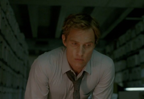 "Matthew McConaughey as Rust Cohle in Season 1 Episode 3 of the HBO Original Series ""True Detective."" Photo Credit: HBO"