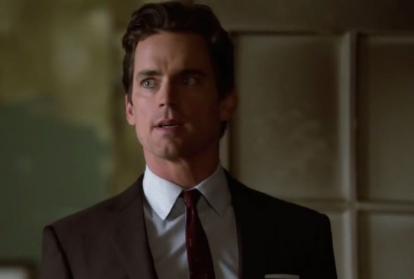 "Matt Bomer as Neal Caffrey in Season 5, Episode 11 of ""White Collar"" entitled ""Shot Through the Heart."" Photo Credit: USA Network"