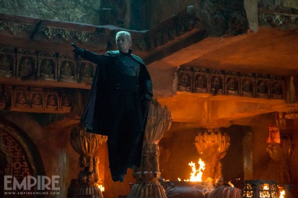"Sir Ian McKellen as Magneto in ""X-Men: Days of Future Past."" Photo Credit: Marvel via Empire Magazine"