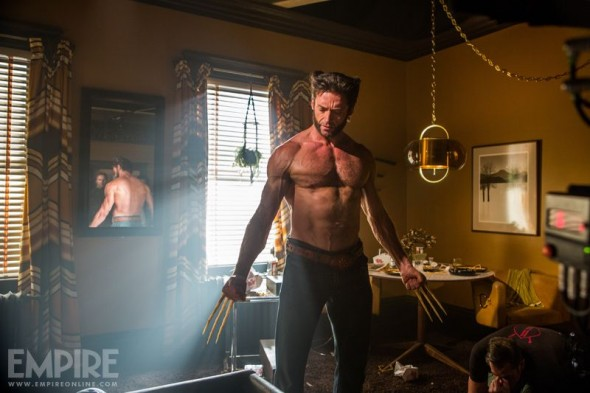 "Hugh Jackman as Wolverine in the film ""X-Men: Days of Future Past."" Photo Credit: Marvel via Empire Magazine"