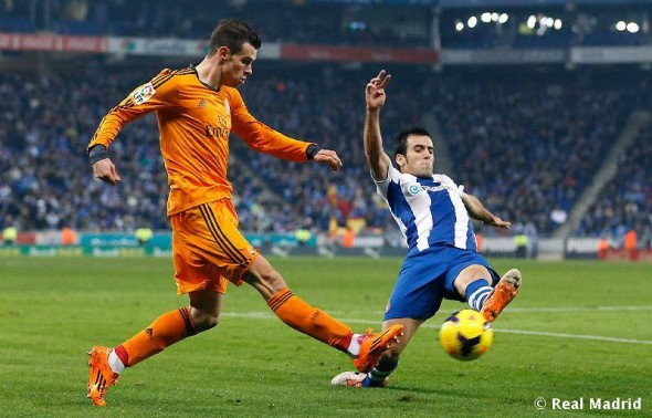 Gareth Bale, via Real Madrid's Facbeook page