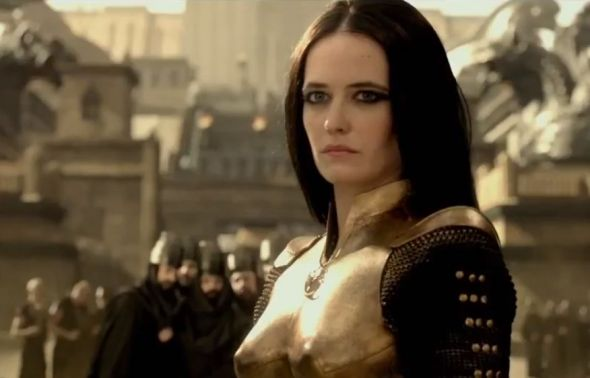 "Eva Green as Artemisia in ""300: Rise of an Empire."" Photo Credit: Warner Bros./Legendary Pictures"