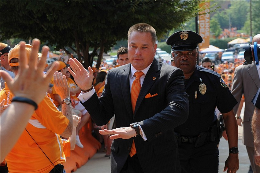 Butch Jones-Tennessee Volunteers