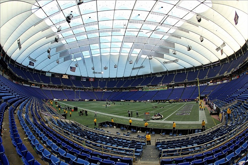 Reddit User Made A Full Scale Replica Of The Metrodome