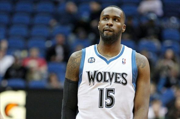 Feb 10, 2014; Minneapolis, MN, USA; Minnesota Timberwolves forward Shabazz Muhammad (15) against the Houston Rockets at Target Center. The Rockets defeated the Timberwolves 107-89. Mandatory Credit: Brace Hemmelgarn-USA TODAY Sports