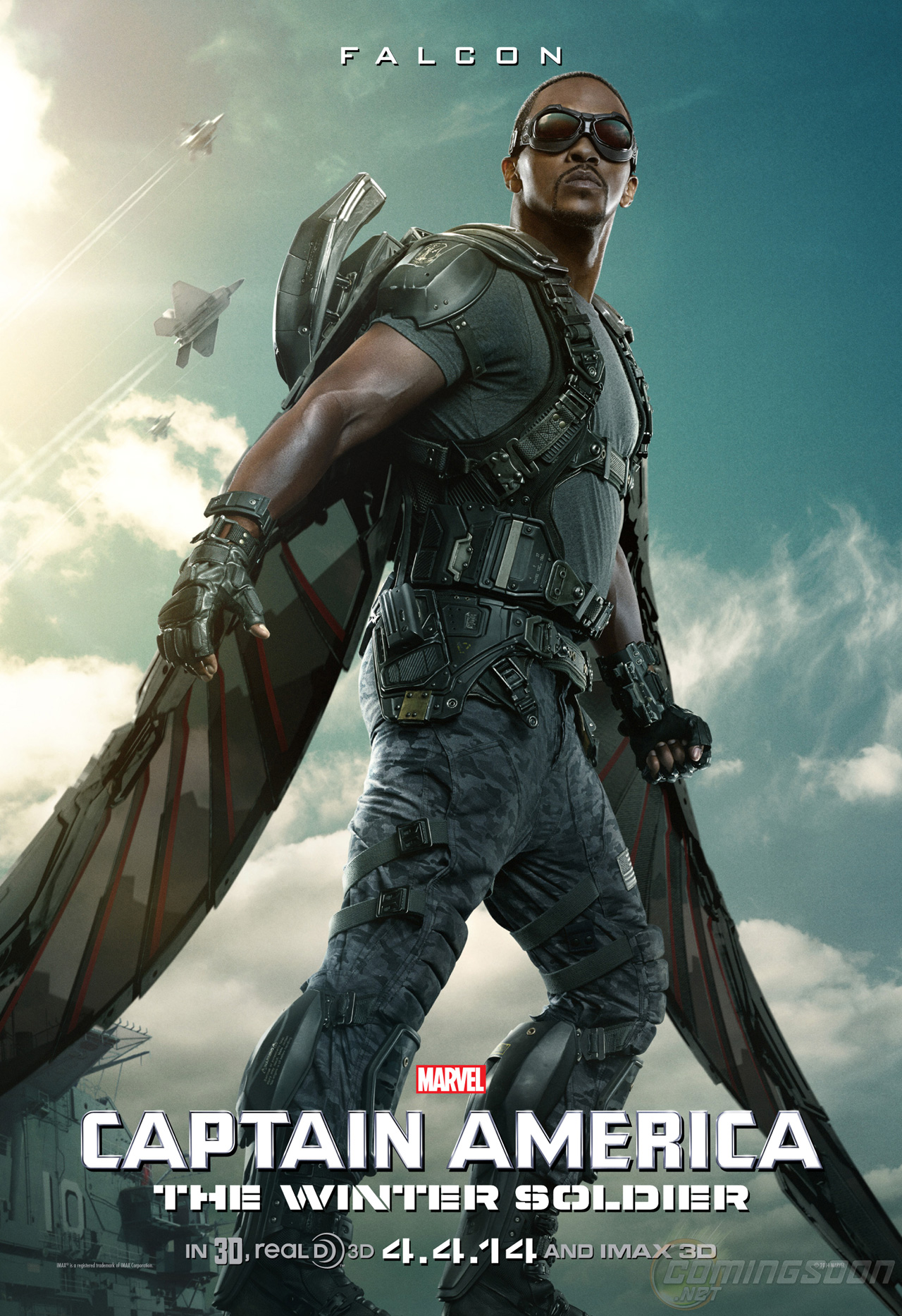 Captain America: The Winter Soldier – New Poster Features ...