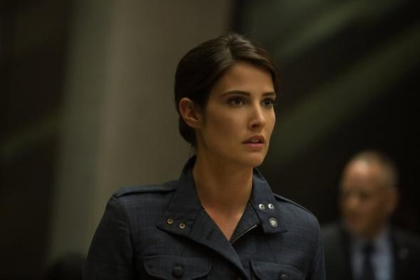 "Cobie Smulders as Maria Hill in the film ""Captain America: The Winter Soldier."" Photo Credit: Marvel"