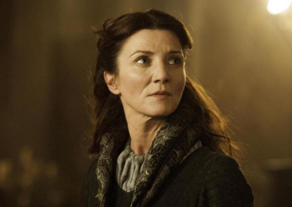 "Michelle Fairley as Catelyn Stark in Season 3, Episode 9 of ""Game of Thrones"" entitled ""The Rains of Castamere."" Photo Credit: HBO"