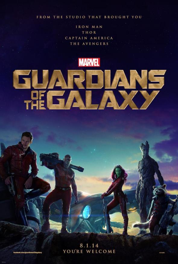 """First official poster for the film """"Guardians of the Galaxy."""" Photo Credit: Marvel"""