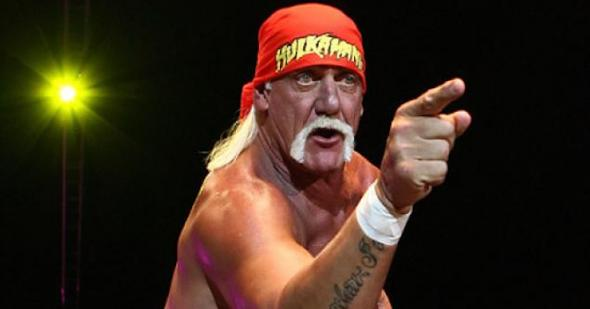 Professional wrestling legend 'The Immortal' Hulk Hogan.