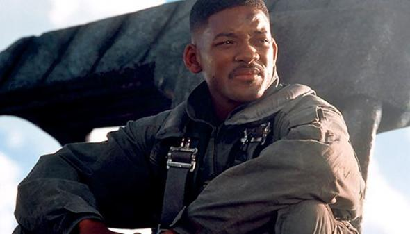 "Will Smith as Captain Steven Hiller in ""Independence Day."" Photo Credit: Twentieth Century Fox"