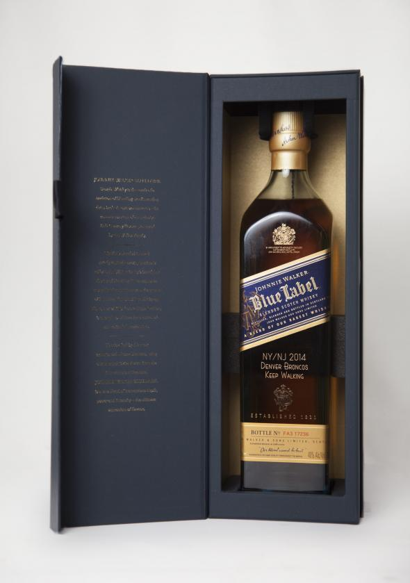 Johnnie Walker Blue Label Denver Bottle_Box