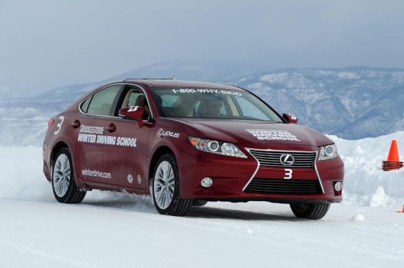 """Bridgestone Winter Driving School"" and ""winterdrive.com"""