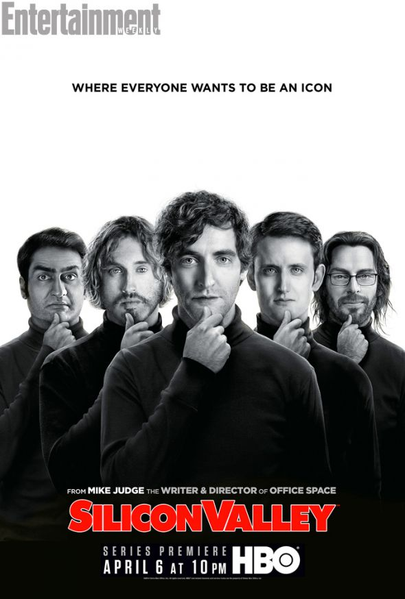 "Promotional Poster for the HBO series ""Silicon Valley."" Photo Credit: HBO via Entertainment Weekly"