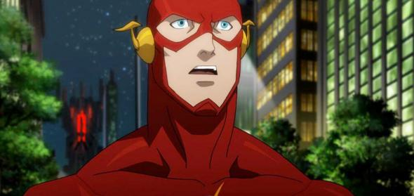 "The Flash from ""Justice League: War."" Photo Credit: DC Comics"