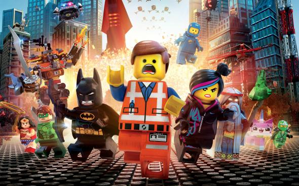 "Promo Poster for ""The LEGO Movie."" Photo Credit: Warner Bros."