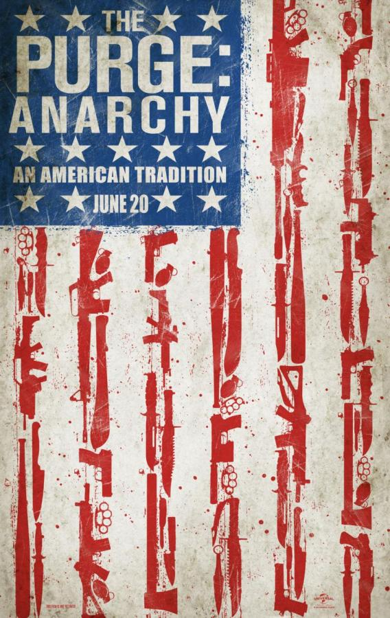 "Promotional Poster for ""The Purge: Anarchy."" Photo Credit: Universal Pictures"