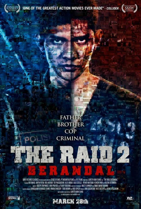 "Promo Poster for the film ""The Raid 2."" Photo Credit: Sony Pictures Classics"